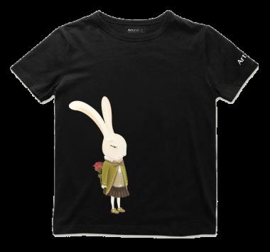艺术T恤-情人节黑色男款