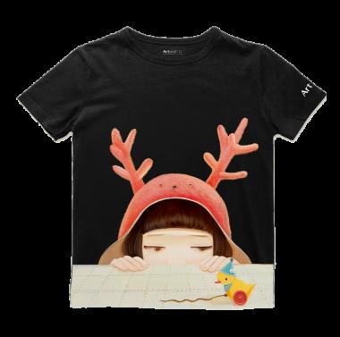 艺术T恤-鸭子