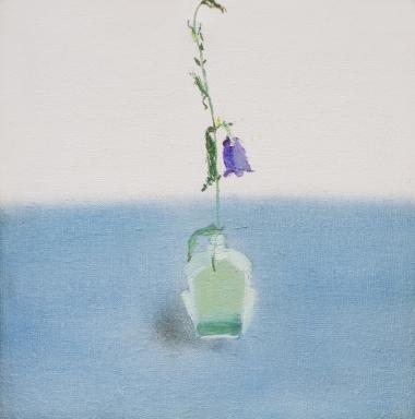 药瓶上的花