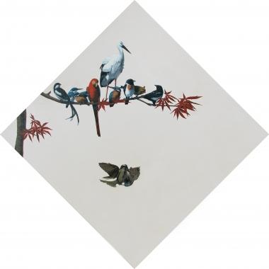 飞上枝头变凤凰—枫叶