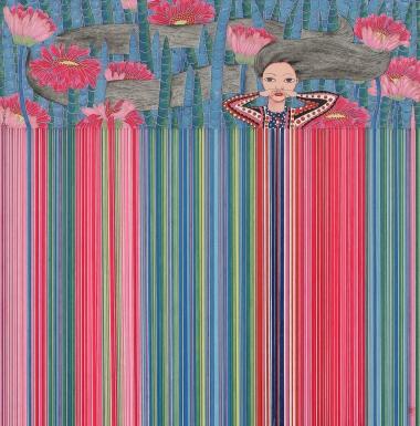 卡壳系列-丛林小女孩