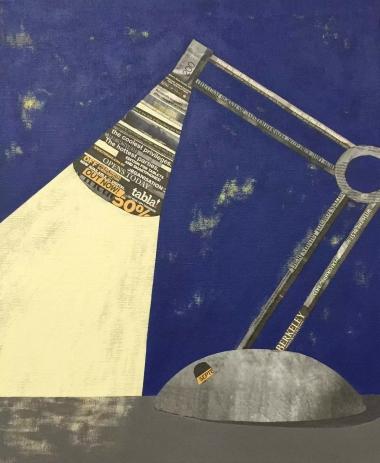 角落系列-夜空中最亮的台灯