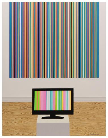 错误的视频和抽象艺术作品1