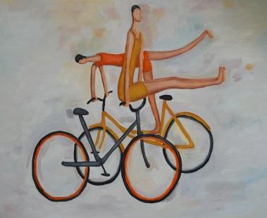 自行车杂技