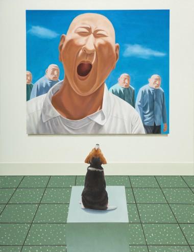观看中国现当代艺术—方力钧