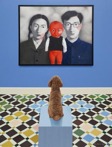 观看中国现当代艺术—张晓刚