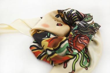 北京小妞 丝巾